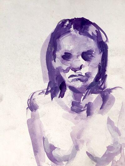 Elly Smallwood, 'Blue Portrait', 2018