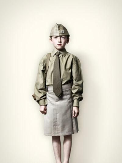 Jim Naughten, 'Girl in US Military Uniform', 2008