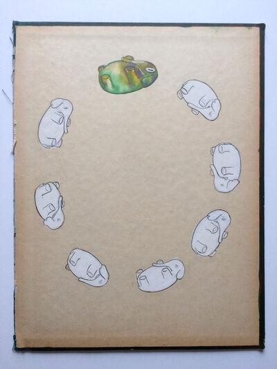Jeff Ladouceur, 'Joyful Sleeper (Green Elephant)', 2018