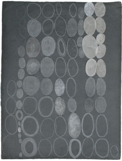 Amanda Guest, 'White Ovals on Grey, 3', 2009