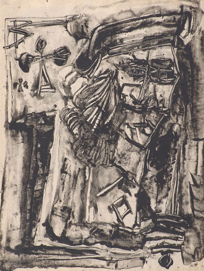 Vladimir Nemukhin, 'Jack of Clubs', 1965