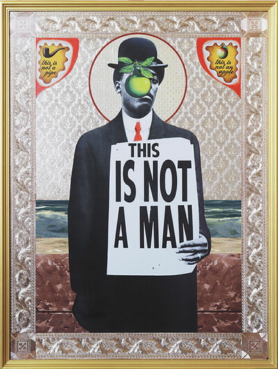 Mark Doox, 'Son Of Man (After Magritte) ', 2019