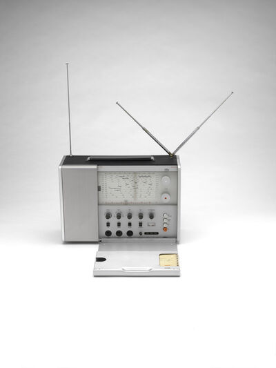 Dieter Rams, 'Braun T 1000 radio', 1963