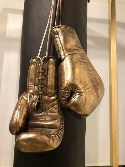 Ignacio Gana, 'Boxing Gloves with Cage', 2020