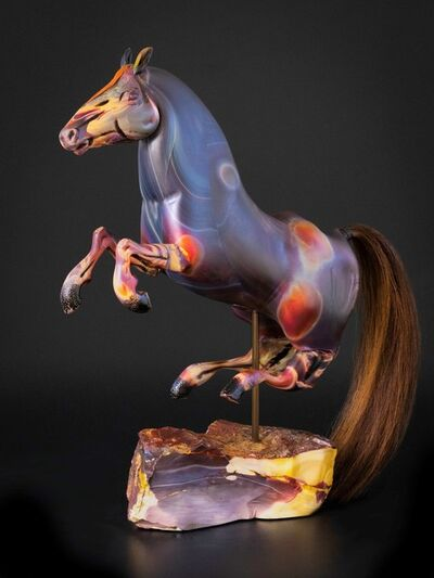 Shelley Muzylowski Allen, 'Chalcedony Horse', 2020