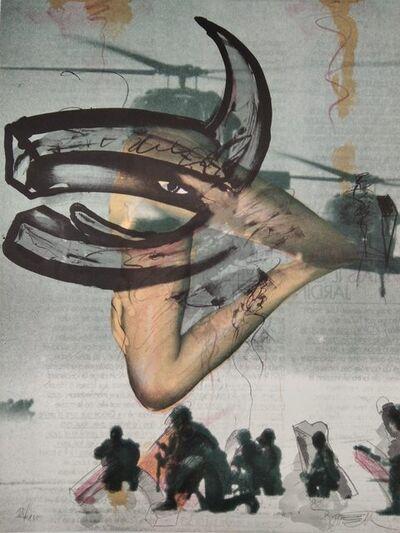 Wolf Vostell, 'Untitled', ca. 1990