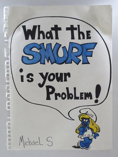 Michael Scoggins, 'Your Problem (Smurfette)', 2013