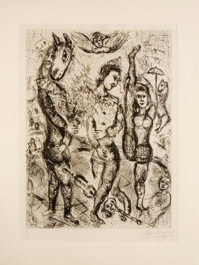 Marc Chagall, 'Pierrot', 1968
