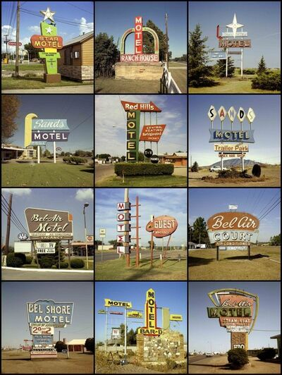 Steve Fitch, 'Motel Signs, 1980 to 1985'