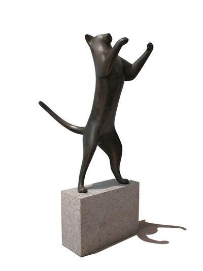 Gwynn Murrill, 'Dancing Cat / Leaping Cat 2 2/9'