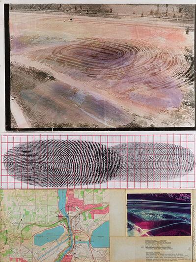 Dennis Oppenheim, 'Identity Stretch 1970-1975', 1975