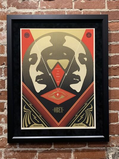 Shepard Fairey, 'I See Static (Red)', 2016