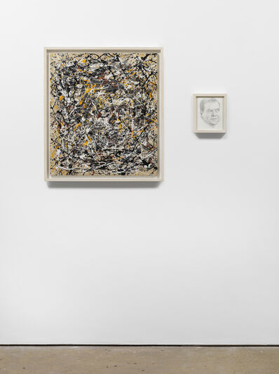 Art & Language, 'Portrait of Dimitri Medvedev in the Style of Jackson Pollock', 2009