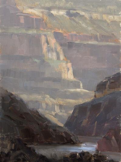 Dave Santillanes, 'Evening at Garnet Canyon, Plein Air Study', 2015