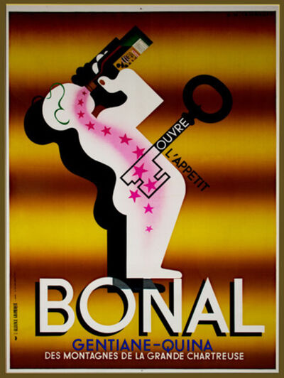 A.M. Cassandre, 'Bonal', 1968