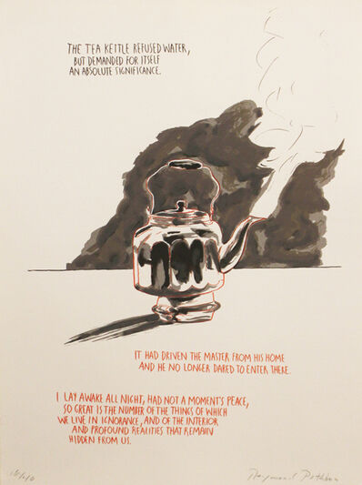 Raymond Pettibon, 'Untitled (The Tea Kettle Refused)', 1990