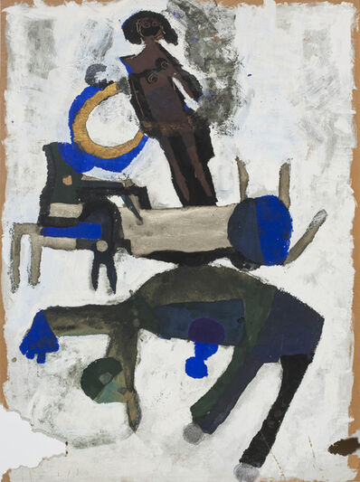 Parviz Tanavoli, 'Farhad Makes A Dream', ca. 1960