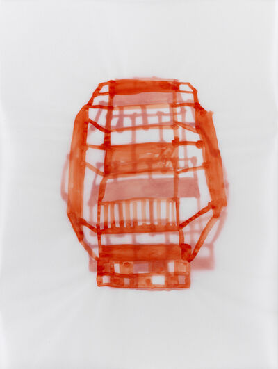 Susan Hefuna, 'Red Building', 2012
