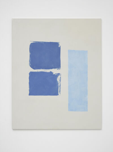 Peter Joseph, 'Two Blues and Light Blue ', 2017