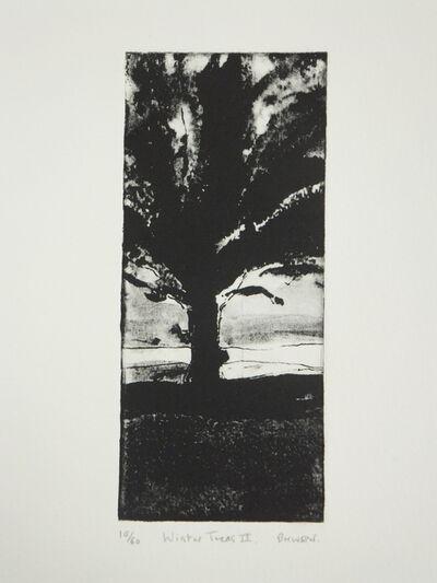 Martyn Brewster, 'Winter Trees No.2', 2009