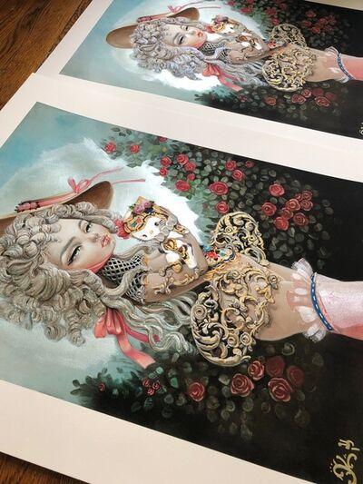"Kukula, '""Rocokitty"" embellished print', 2019"