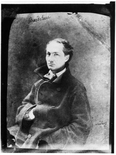Nadar, 'Portrait of Charles Baudelaire', ca. 1855