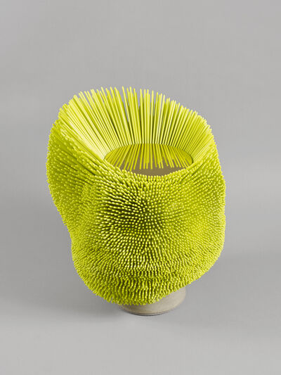 Pia Maria Raeder, ''Sea Anemone' Side Table (Bright Yellow)', 2016