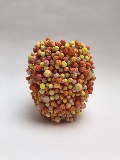 Avital Avital, 'Stamens Vase (Orange)', 2018