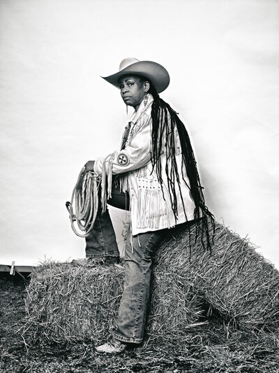 """Brad Trent, '""""Mama"""" Kesha Morse from """"The Federation of Black Cowboys"""" series for The Village Voice', 2016"""