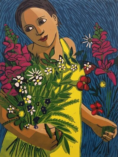 Anita Klein PPRE, 'June Flowers ', 2019