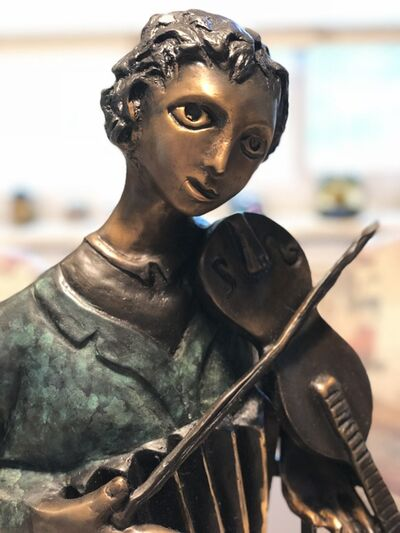 "Marc Chagall, '""The Violinist"" Sculpture', 2002"
