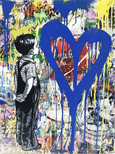 Mr. Brainwash, 'With All My Love', 2018