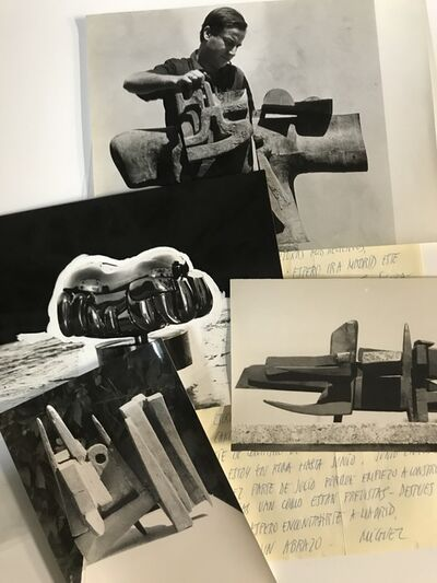 Miguel Berrocal, 'Set of 94 photographs of the artist working and some of his sculptures', 1958-1977