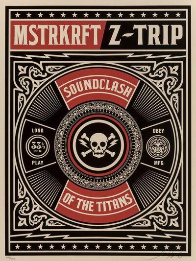 Shepard Fairey, 'Z Trip MSTRKRFT- Soundclash of the Titans', 2008