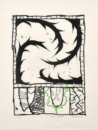 Pierre Alechinsky, 'Natural defense', 2001