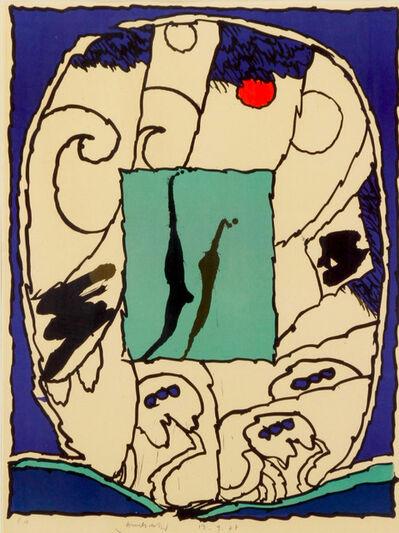 Pierre Alechinsky, 'Sans titre', 1974