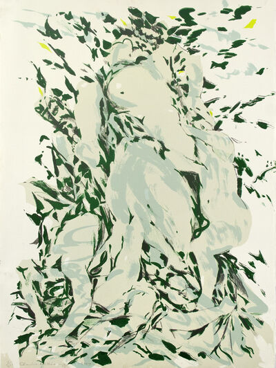 Elaine de Kooning, 'Jardin de Luxembourg V', 1977
