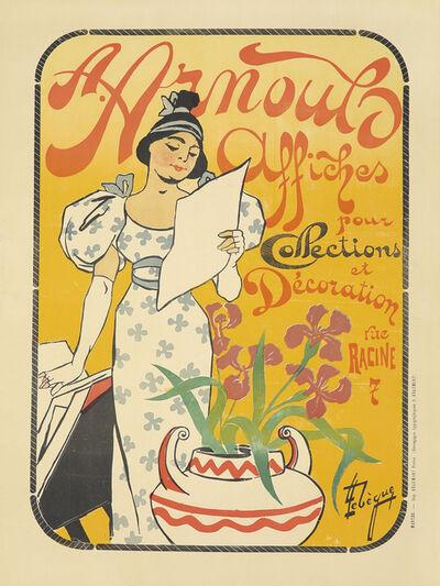 Leon G. Lebegue, 'A. Arnould Affiches', ca. 1895