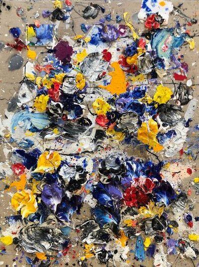 Ismael Lagares, 'Yellow X', 2019