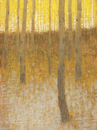 David Grossmann, 'Bright Leaves and First Snow', 2015