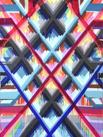 Maya Hayuk, 'Heavy Glistener NYC #3', 2015