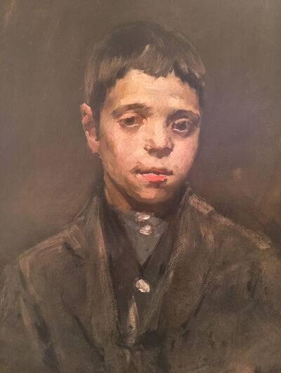 William Merritt Chase, 'Latin Boy'