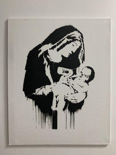 """Banksy, 'BANKSY DISMALAND """"TOXIC MARY""""', 2015"""