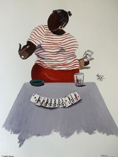 Annie Frances Lee, 'I Said Seven ', 1992