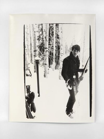 Andy Warhol, 'Jed Johnson (Aspen)', 1979