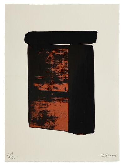 Pierre Soulages, 'Sérigraphie n° 12', 1979