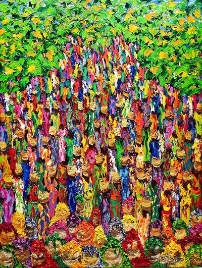 Christine Drummond, 'Marché tropical', 2018