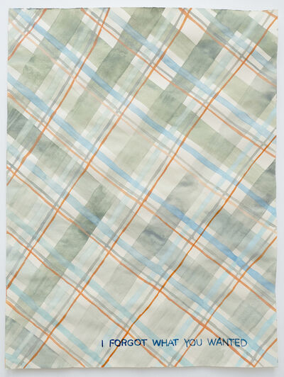 Julia Kuhl, 'Domestic Textiles Series, I Forgot What You Wanted', 2019
