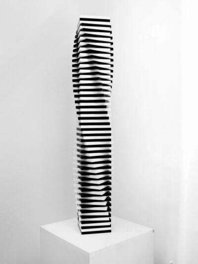 Francisco Sobrino, 'Colonna bianconera', 1975