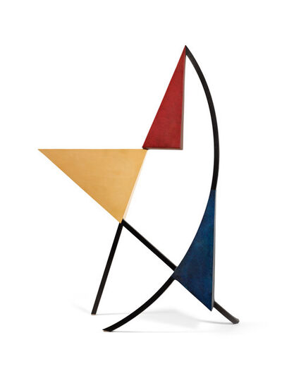 Arthur Carter, 'Three Triangles with an Arc & Two Chords II', 2019